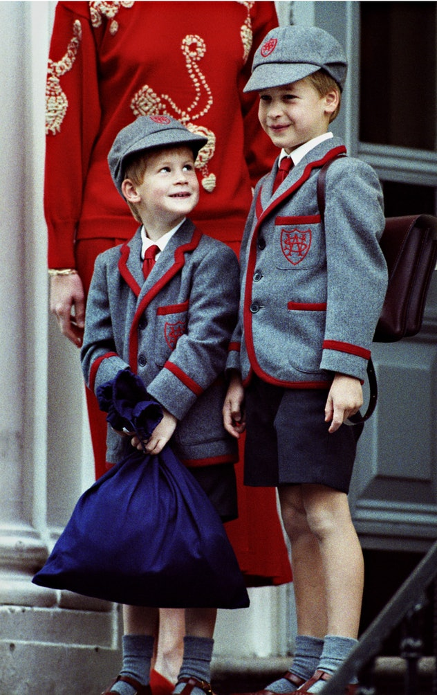 Both princes attended Wetherby.
