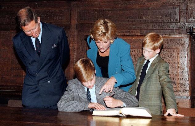 Prince William at Eton College.