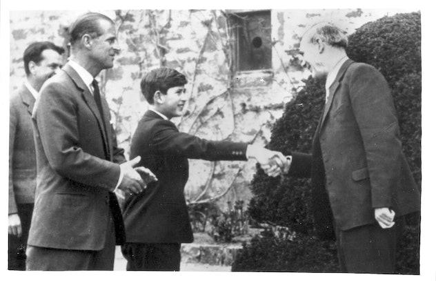 Prince Charles attends Gordonstoun School in Scotland.