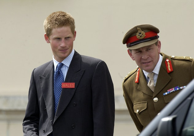 Prince Harry attended the Royal Military Academy.