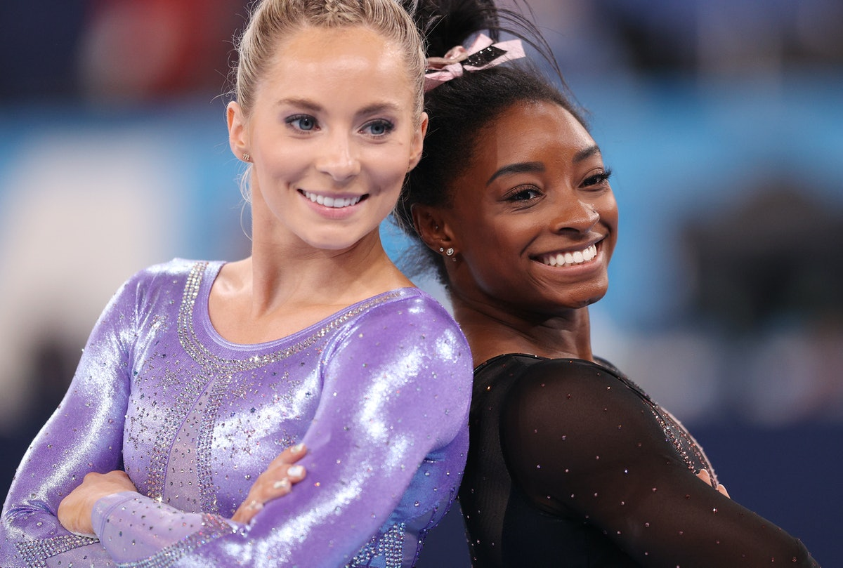 MyKayla Skinner tweeted about replacing Simone Biles in the vault and it's a hopeful message.