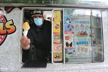 TORONTO, ON- MAY 30  -  Toronto Softee truck owner Peter Berbatiotis says he's been getting conflict...