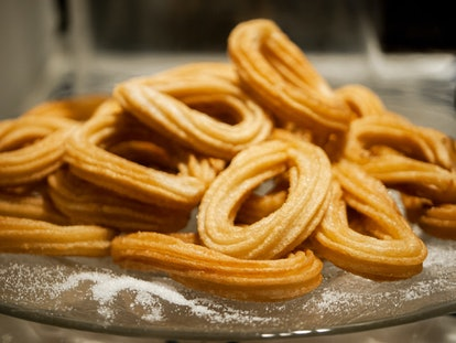 These baked churros are perfect for beginners.