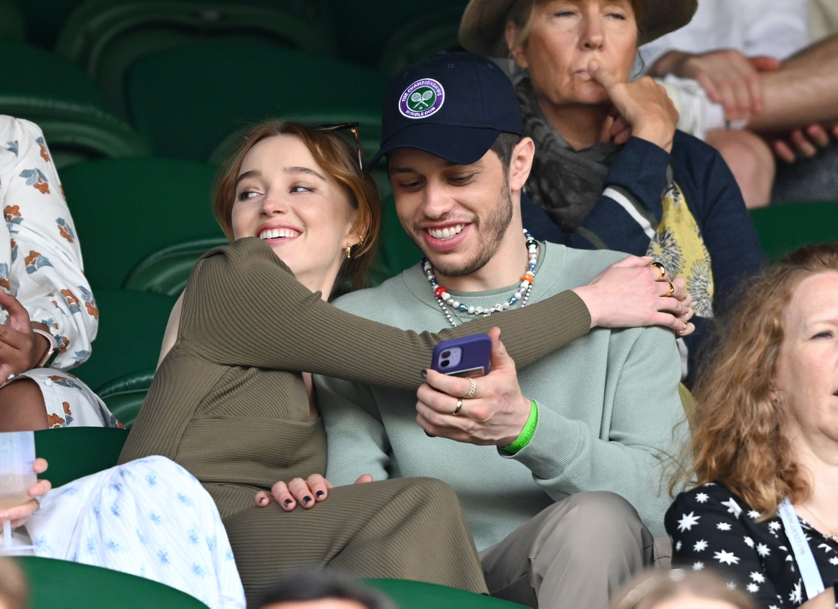 Phoebe Dynevor and Pete Davidson were spotted on a date at Wimbledon.