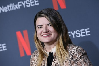 """LOS ANGELES, CALIFORNIA - JUNE 09: Leslye Headland attends Netflix's FYSEE event for """"Russian Doll"""" ..."""