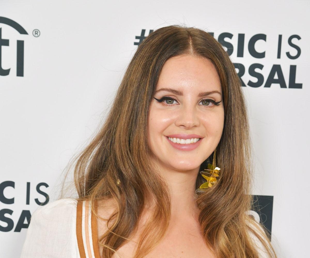 HOLLYWOOD, CALIFORNIA - JANUARY 25: Lana Del Rey attends Sir Lucian Grainge's 2020 Artist Showcase P...