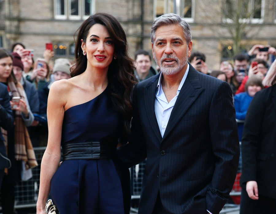 George and Amal Clooney attend the People's Postcode Lottery Charity Gala in 2019 in Edinburgh, Scotland.