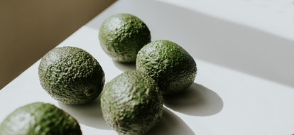 Avocados with bumpy skin. Genital warts are a kind of sex bump that can be a skin problem after sex.