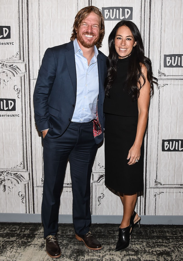 NEW YORK, NY - OCTOBER 18:  Chip Gaines and Joanna Gaines attend the Build Series to discuss the new...