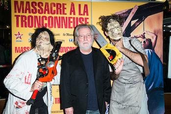 PARIS, FRANCE - SEPTEMBER 23:  Tobe Hooper attends the Texas Chain Saw Massacre screening For Film's...