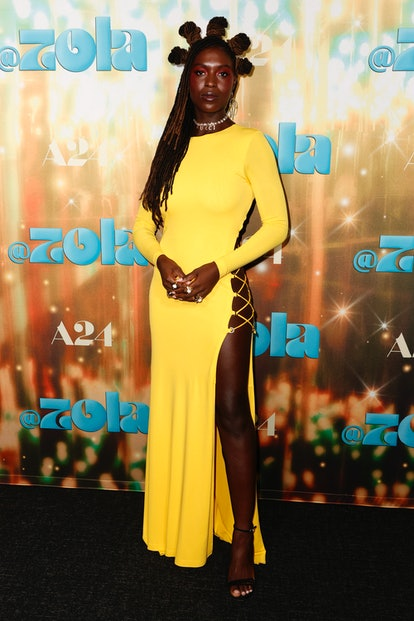 """LOS ANGELES, CALIFORNIA - JUNE 29: Jodie Turner-Smith attends the Los Angeles Special Screening Of """"..."""
