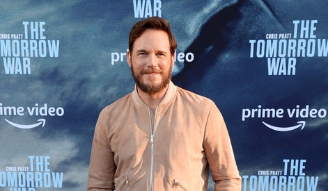 """LOS ANGELES, CALIFORNIA - JUNE 30: Chris Pratt attends the premiere of Amazon's """"The Tomorrow War"""" at Banc of California Stadium on June 30, 2021 in Los Angeles, California. (Photo by Rich Fury/WireImage)"""