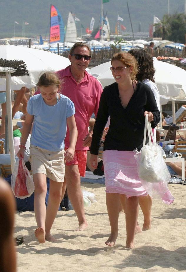 Princess Beatrice in St. Tropez.
