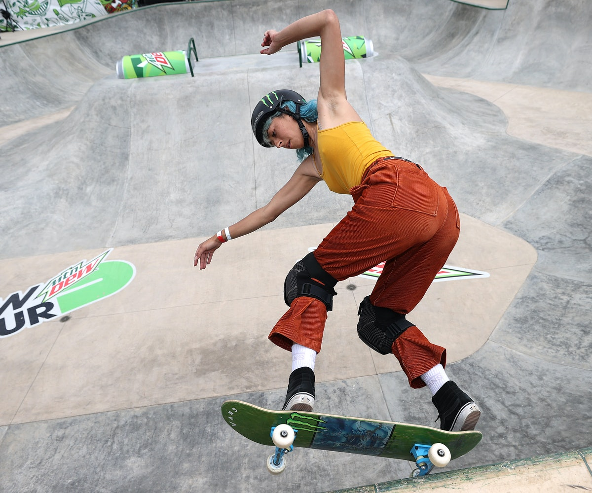 DES MOINES, IOWA - MAY 21:  Lizzie Armanto of Finland competes in the Women's Park Semifinal at the ...