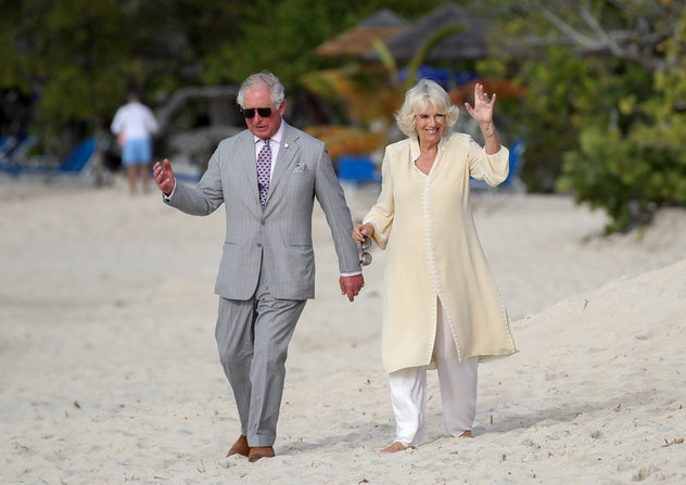 Prince Charles visited Grenada with Camilla Parker-Bowles.