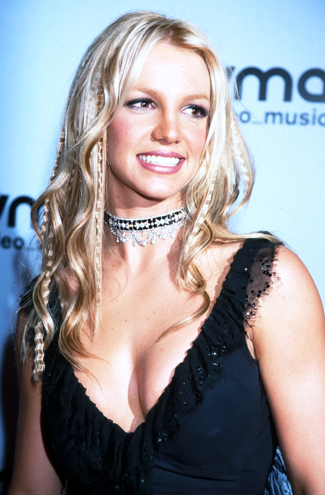 (NO TABLOIDS)    Britney Spears during The 2000 MTV Video Music Awards at the Radio City Music Hall ...
