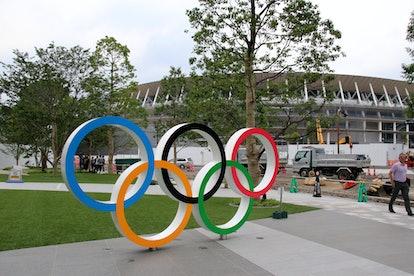 Stade où se dérouleront les cérémonies d'ouverture et de clôture des jeux olympiques de Tokyo 2020 e...
