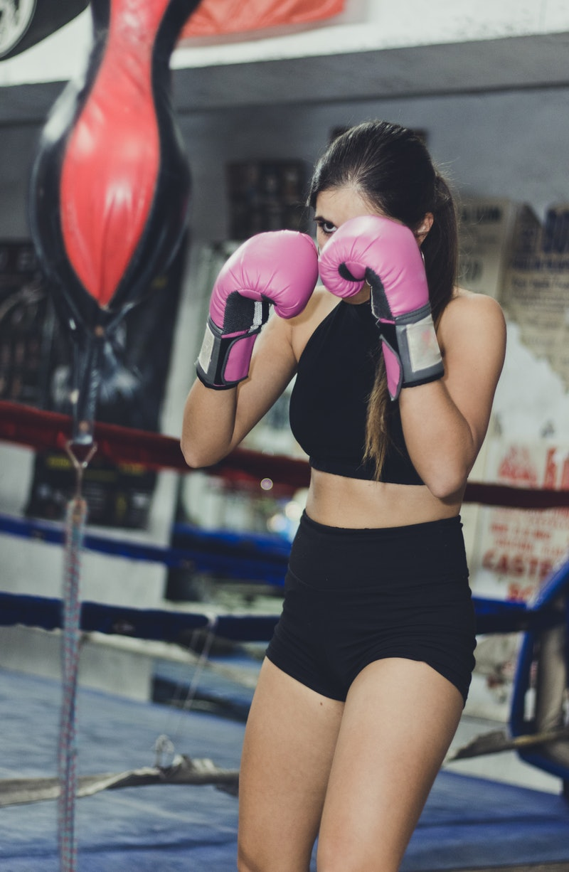 Work through these boxing workouts for beginners to master your punching form.