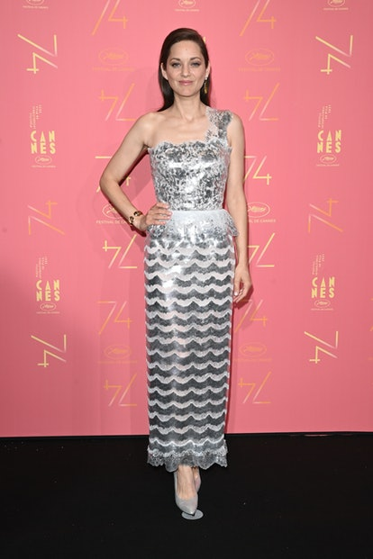 CANNES, FRANCE - JULY 06: Marion Cotillard attends the opening ceremony gala dinner of the 74th annu...