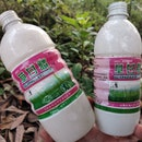 YICHANG, CHINA - MAY 7, 2021 - Pesticide bottles are discarded by farmers after using glyphosate her...
