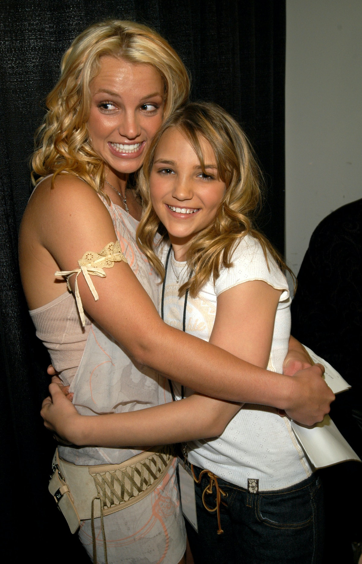 Britney Spears and Jamie-Lynn Spears   (Photo by Kevin Mazur Archive 1/WireImage)