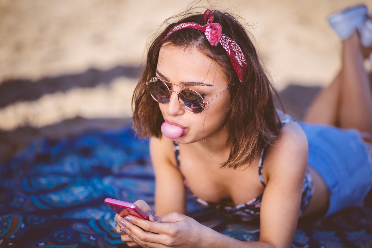 If you don't get a text response after a first date, double-texting might not help.
