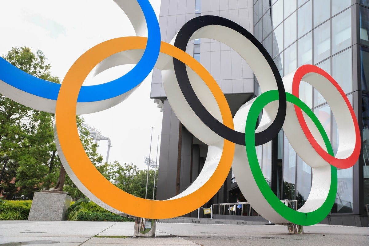 2021 Olympic Rings for the Olympics Opening ceremony