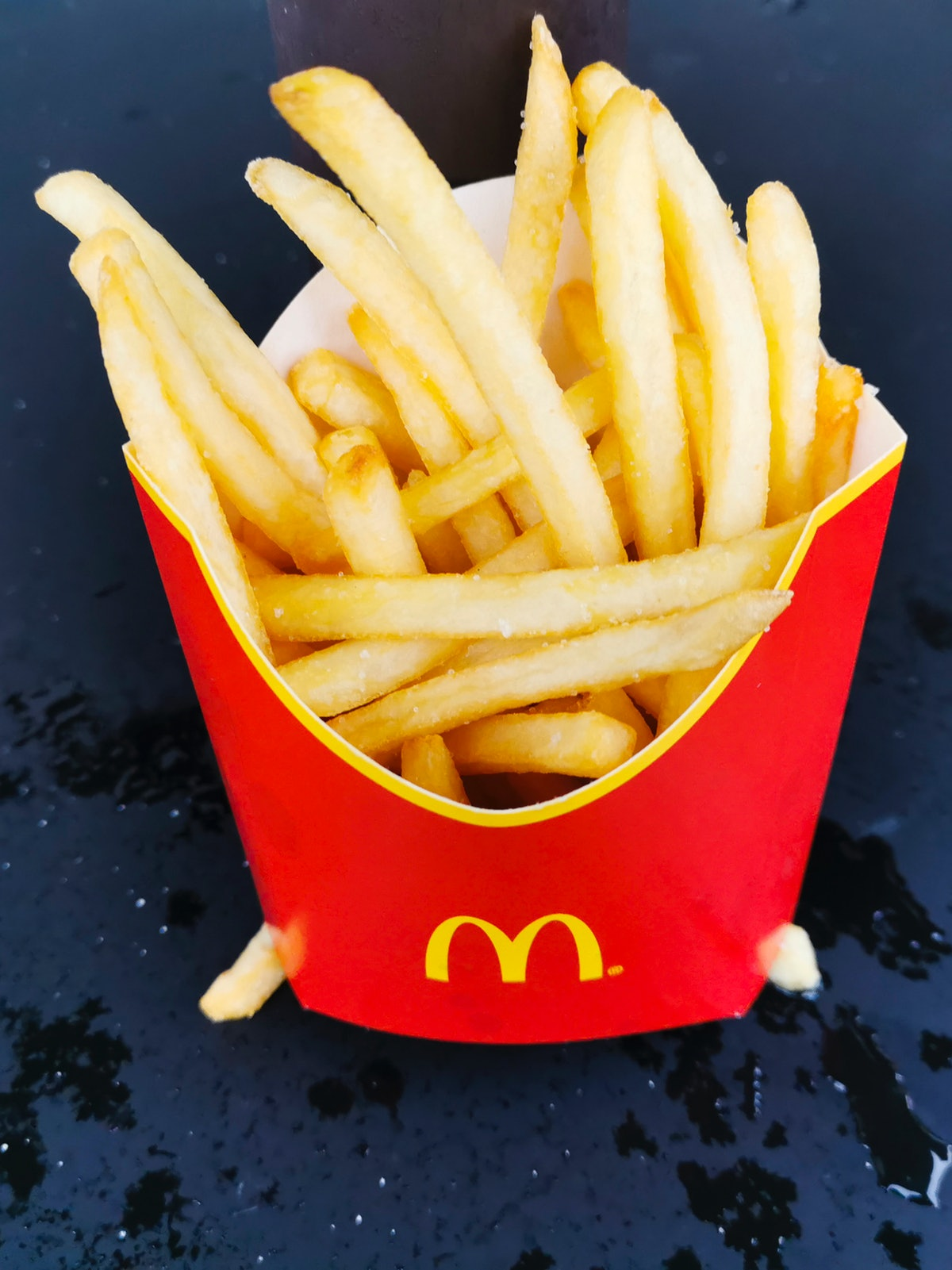 You could score a lifetime of free fries from McDonald's with its World Famous Fan Contest.