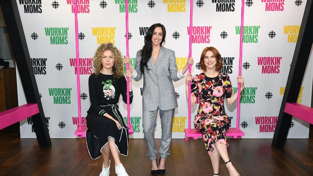 TORONTO, ON - MARCH 06: Juno Rinaldi, Catherine Reitman and Dani Kind attend CBC Presents: A Night O...