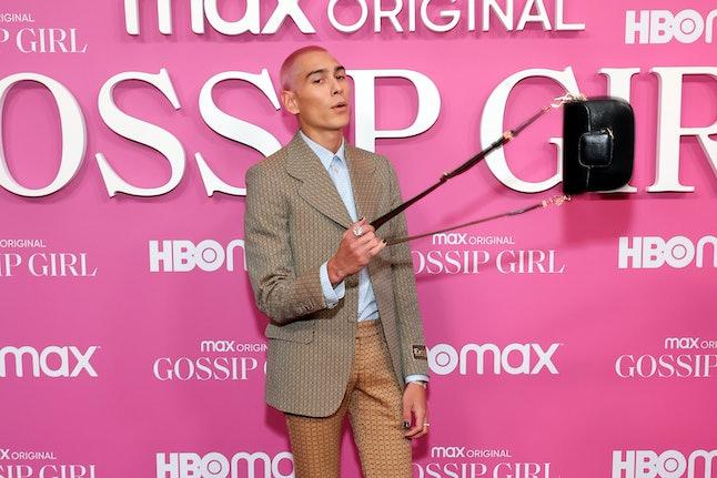 "NEW YORK, NEW YORK - JUNE 30: Evan Mock attends the ""Gossip Girl"" New York Premiere at Spring Studio..."