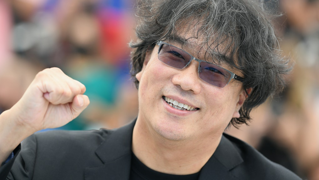 """CANNES, FRANCE - JULY 07: Director Bong Joon-Ho attends """"Bong Joon-Ho"""" photocall during the 74th ann..."""