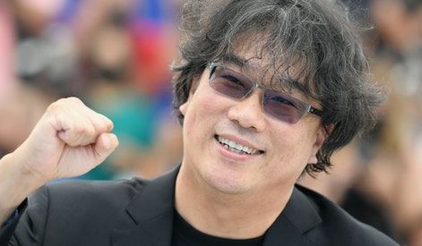 """CANNES, FRANCE - JULY 07: Director Bong Joon-Ho attends """"Bong Joon-Ho"""" photocall during the 74th annual Cannes Film Festival on July 07, 2021 in Cannes, France. (Photo by Pascal Le Segretain/Getty Images)"""