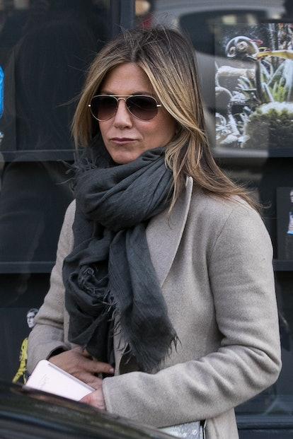 Jennifer Aniston in Paris, France in 2017.