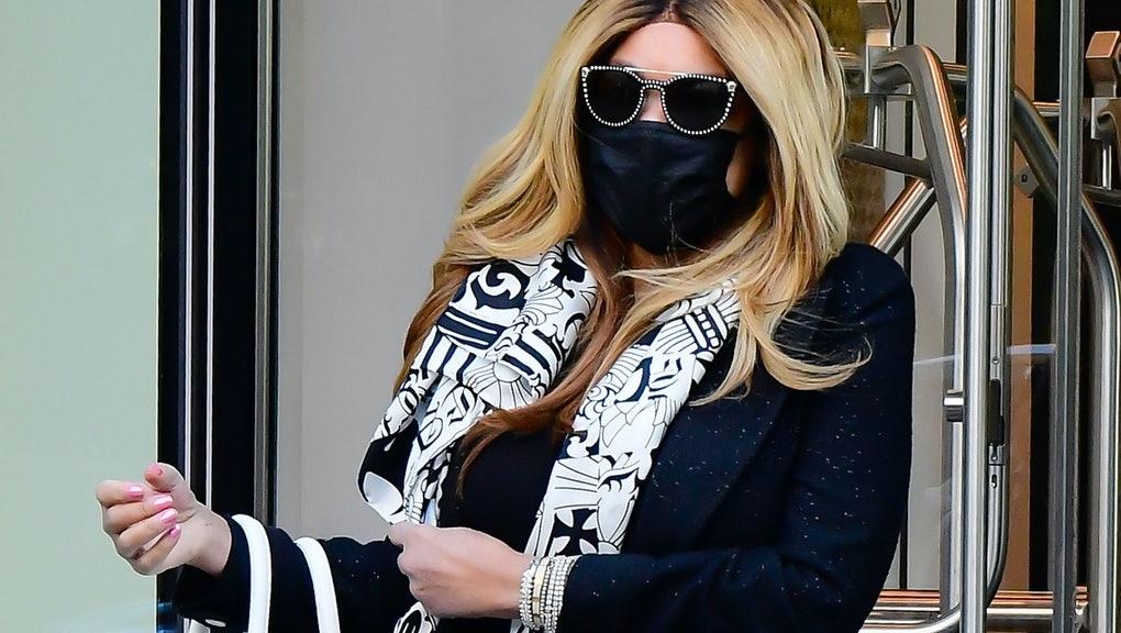 NEW YORK, NY - MAY 11: Wendy Williams is seen walking in Soho on May 11, 2021 in New York City. (Pho...