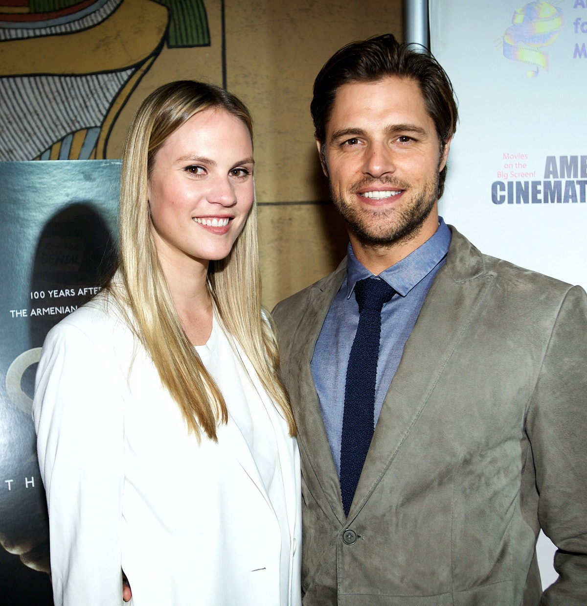 Sam Page and his wife Cassidy Boesch met at a cocktail party.