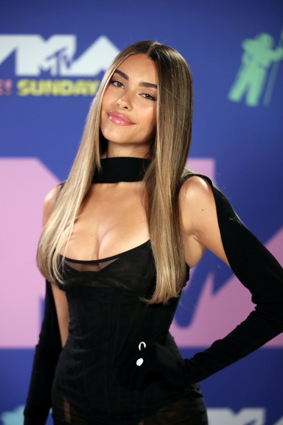 Madison Beer shows off a more toned-down makeup look as part of her beauty evolution