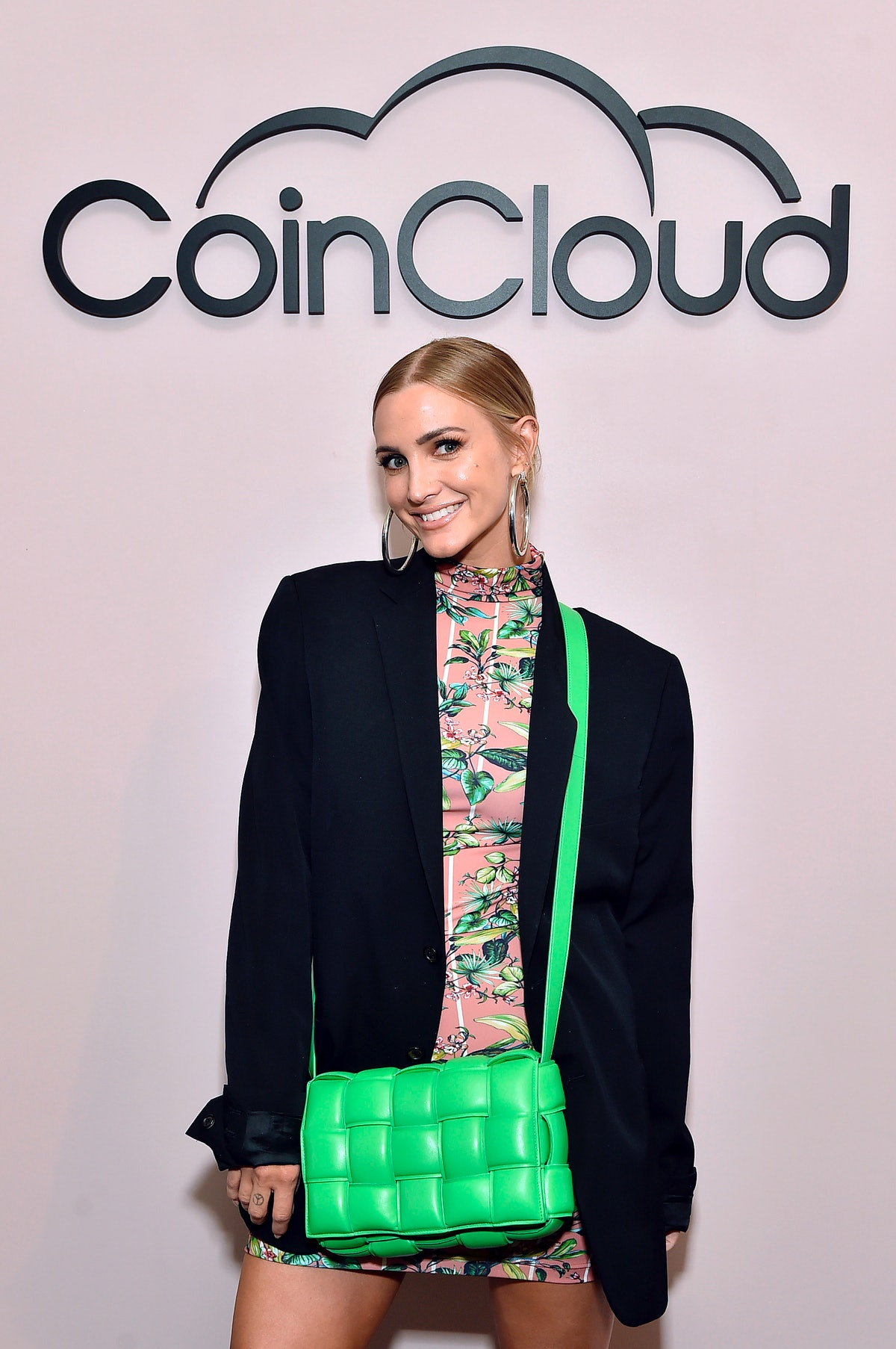 LOS ANGELES, CALIFORNIA - JUNE 15: Ashlee Simpson Ross attends the Coin Cloud Cocktail Party, hosted...
