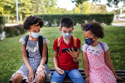 If masks are voluntary at school, pediatricians hope most children will still wear masks in the clas...