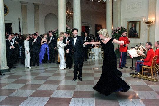 Princess Diana danced with John Travolta.