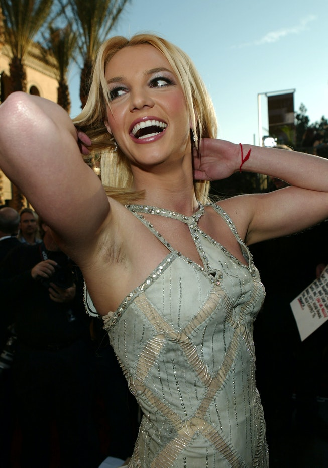 Britney Spears during 31st Annual American Music Awards - Arrivals at Shrine Auditorium in Los Angel...