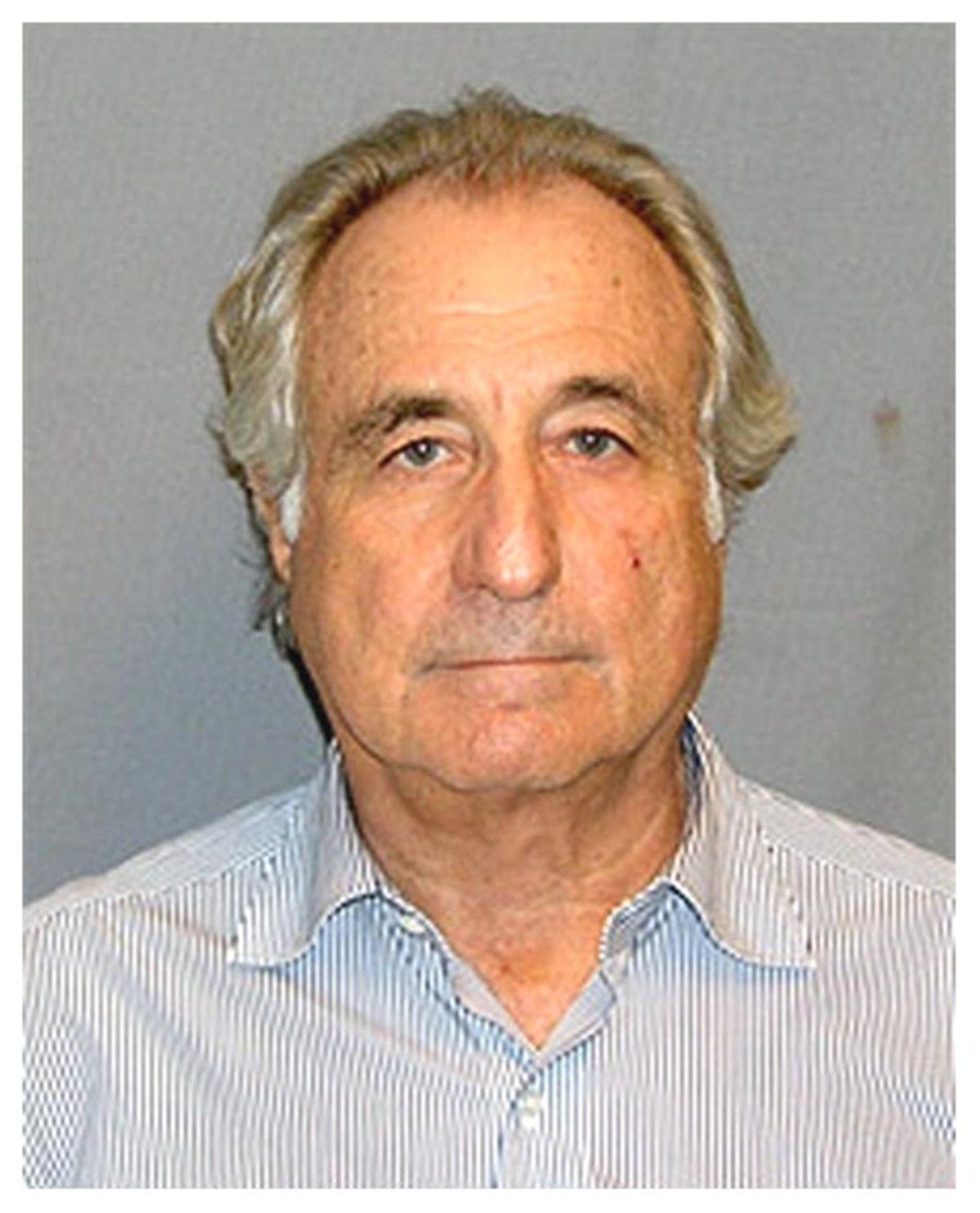 Bernard Madoff mugshot in circa 2008. (Photo courtesy Bureau of Prisons/Getty Images)