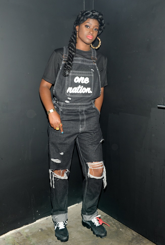 """NEW YORK, NY - JUNE 13:  Tierra Whack attends the Atlantic Records """"Access Granted"""" Showcase on June..."""
