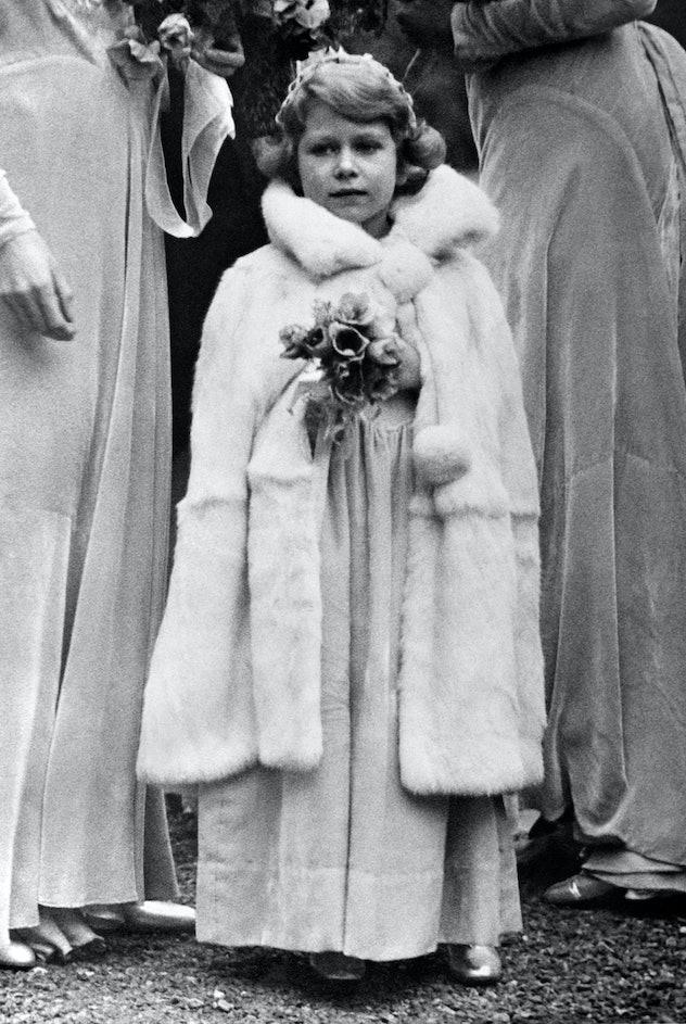 Princess Elizabeth was a bridesmaid.