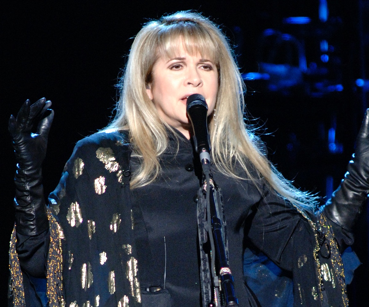 Stevie Nicks performs at Sleep Train Pavilion on May 17, 2007 in Concord, California. (Photo by Tim ...