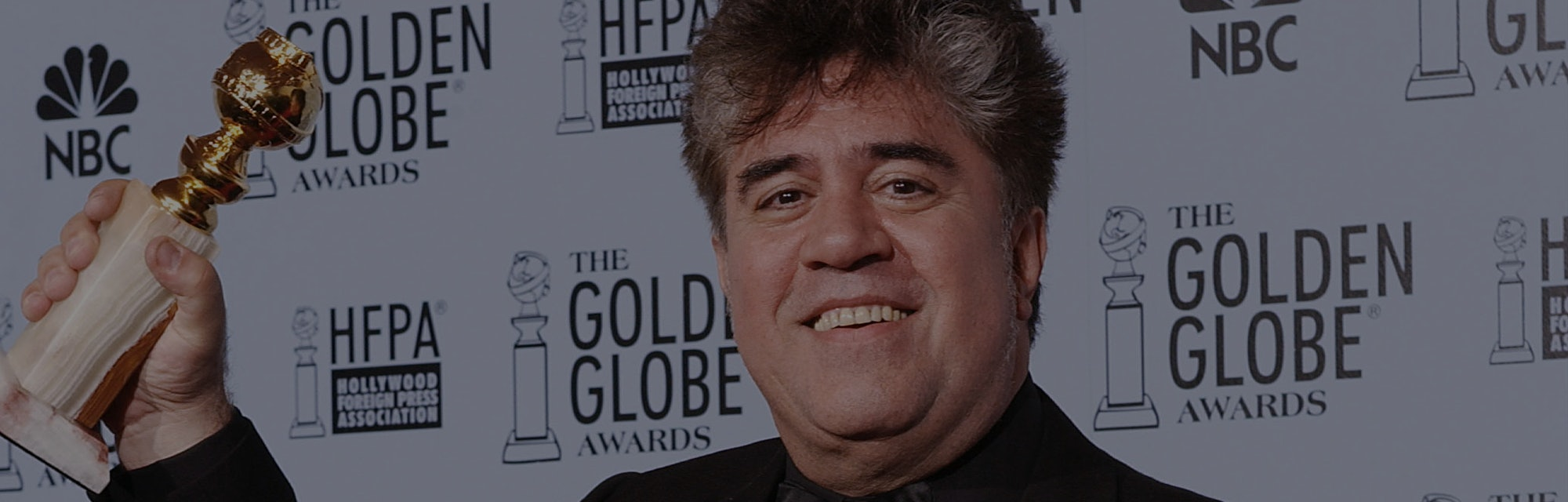 """Pedro Almodovar, Director of Best Foreign Language Film """"Talk To Her"""" in the pressroom at the 60th A..."""