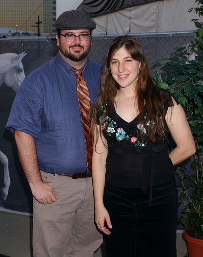 Mayim Bialik and Michael Stone were married for nine years.
