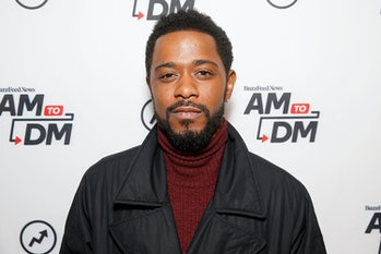 """NEW YORK, NEW YORK - FEBRUARY 12: (EXCLUSIVE COVERAGE) Lakeith Stanfield attends BuzzFeed's """"AM To D..."""