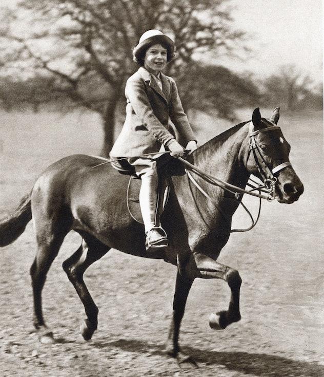 Princess Elizabeth is an avid equestrian.