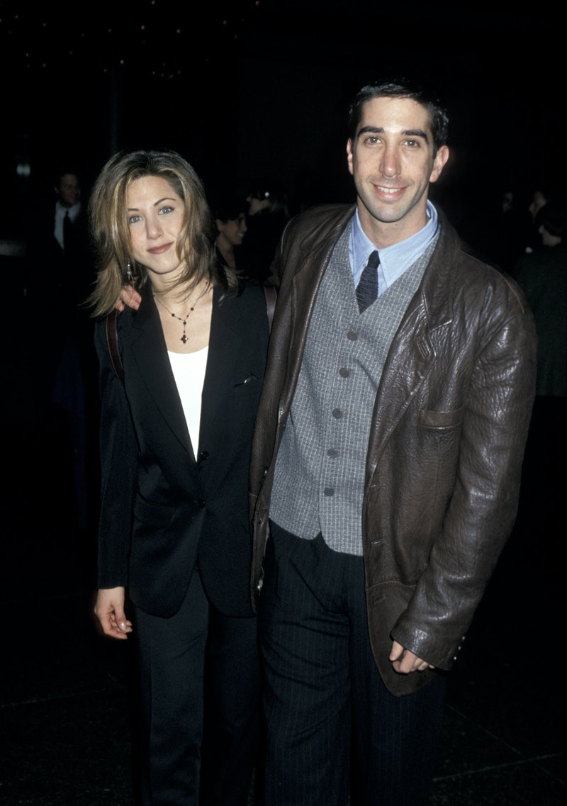 Jennifer Aniston and David Schwimmer (Photo by Jim Smeal/Ron Galella Collection via Getty Images)