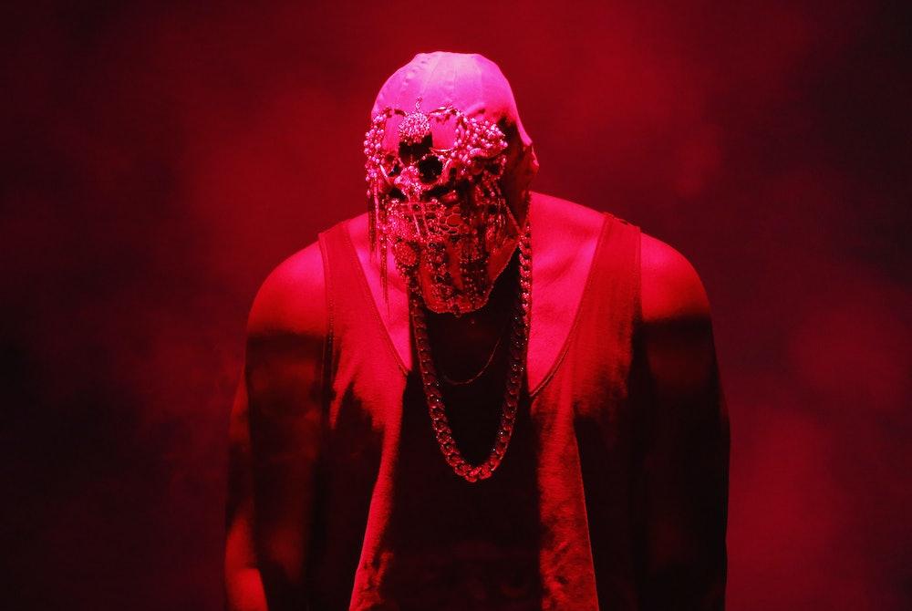 SYDNEY, AUSTRALIA - SEPTEMBER 12:  Kanye West performs live for fans at Qantas Credit Union Arena on...